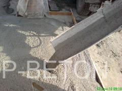 Заливка бетона фото