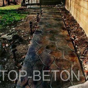 Травление бетона контрольные рейки для бетона купить